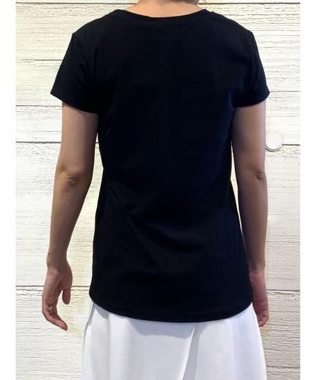 LA VIE EST BELLE tシャツ【ブラック】