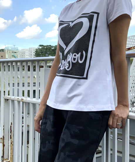 I love you Tシャツ