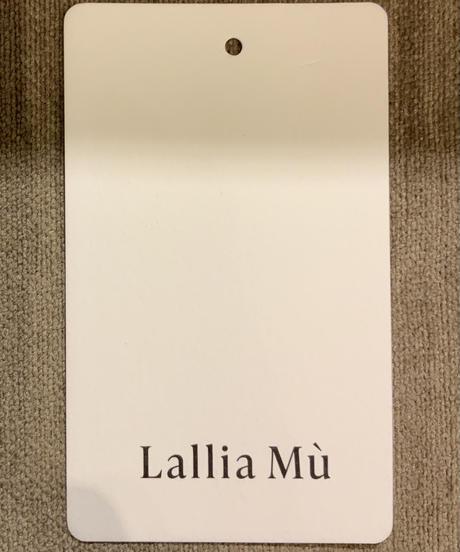 ◆NEW◆[Lallia Mu]バルーンスリーブフーディワンピース【ベージュ】
