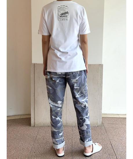 [COOLA]ペイントTシャツ【ホワイト】