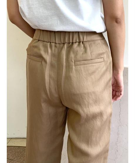 [Srieee]スリットサイドラインパンツ【ベージュ】