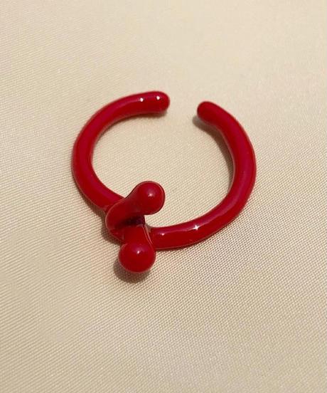 ポルキュースリング/Red