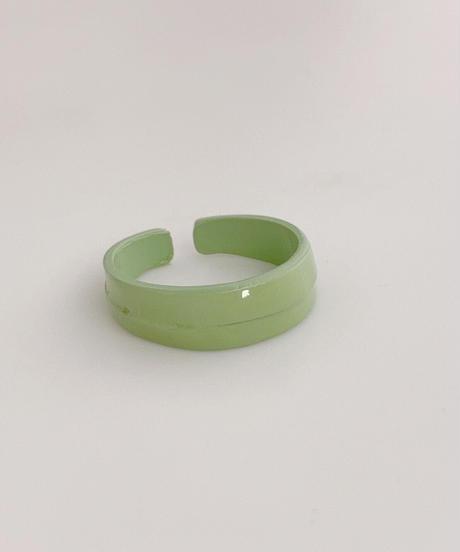 ポルキュースリング/ Avocado Green