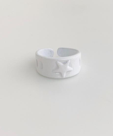 ポルキュースリング/White Star Motif