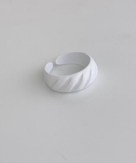 ポルキュースリング/White Twist