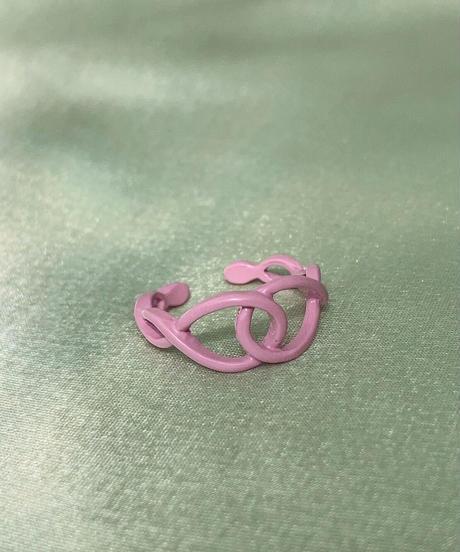 ポルキュースリング/Pale Pink