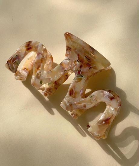 ヒュギ ヘアクリップ/Shell Motif