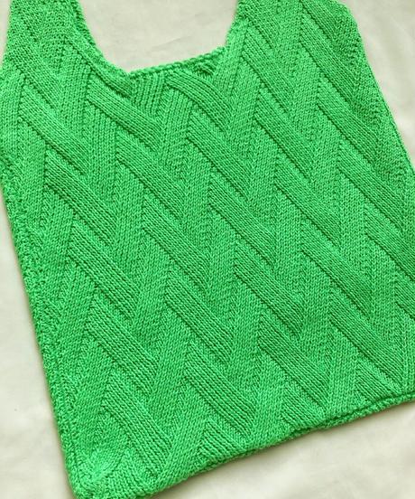 クロシェバッグ/Lime Green