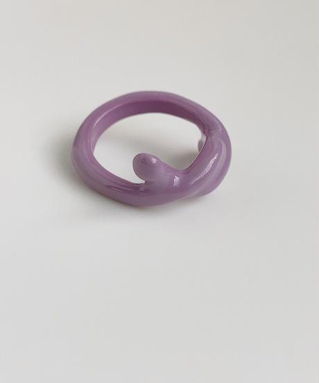 ポルキュースリング/ Pale Purple