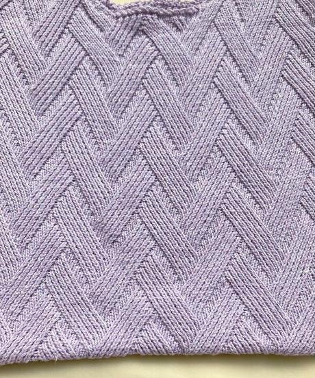 クロシェバッグ/Pale Purple