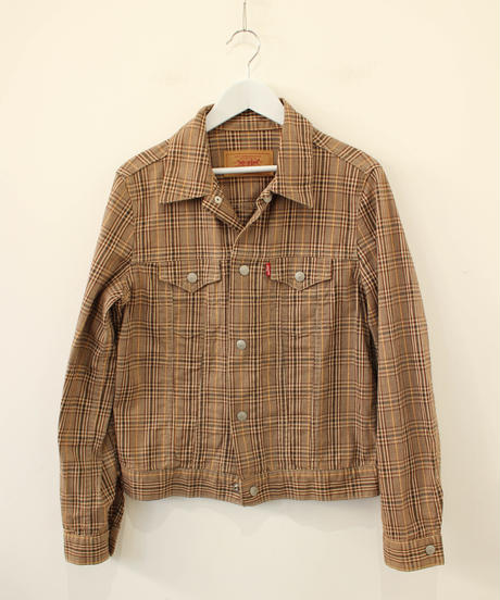 【levis 】Check cotton jacket