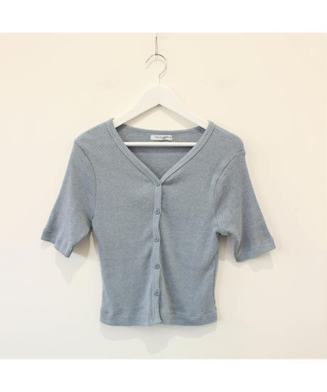 ice blue knit tops