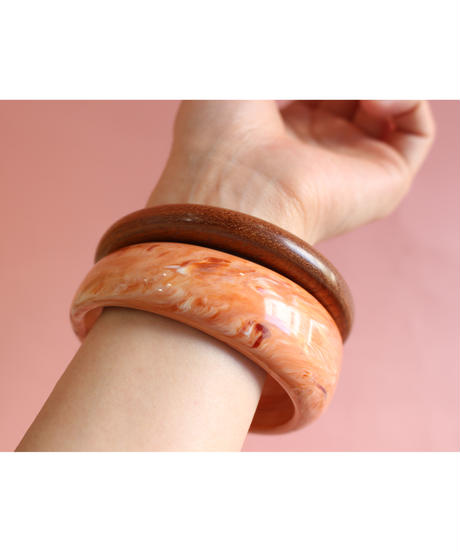 Bent wood bangle