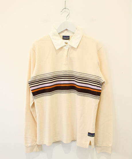 【patagonia】line long polo shirt