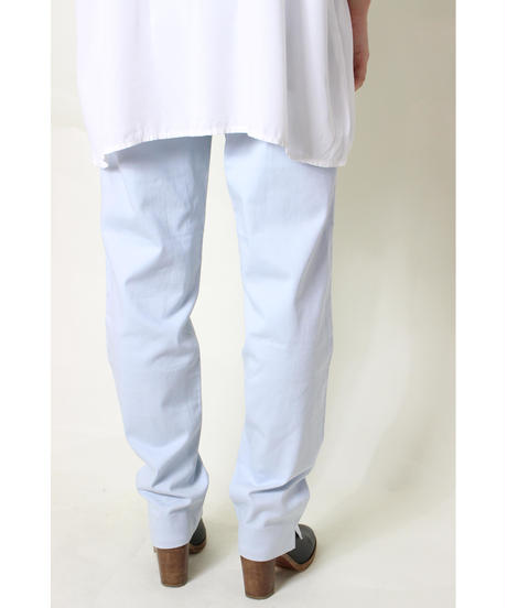 ice blue slit pants