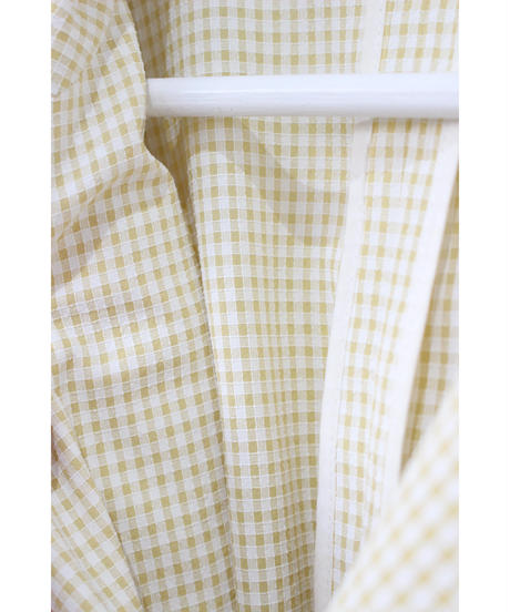 gingham check summer jacket