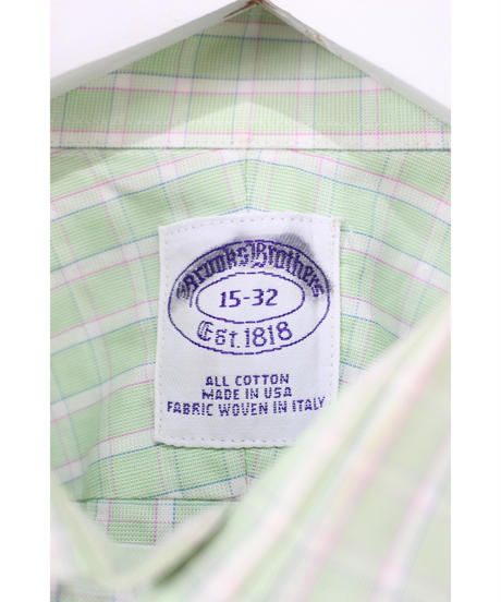 made in USA check shirt