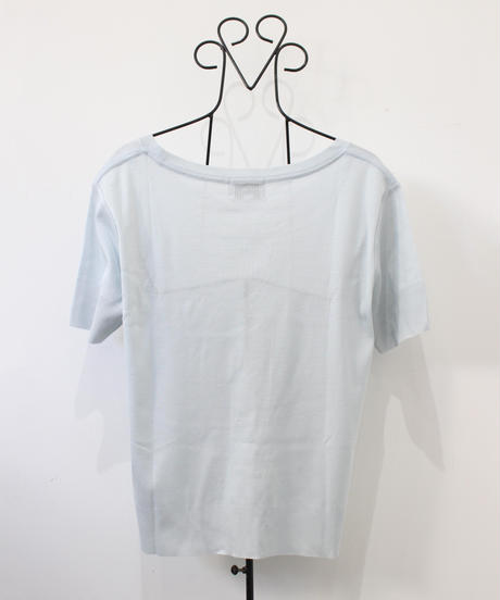 【coueeges】ice blue Tee