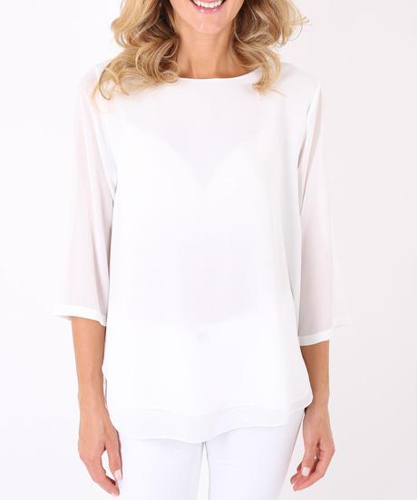 ベーシックシャツ/White