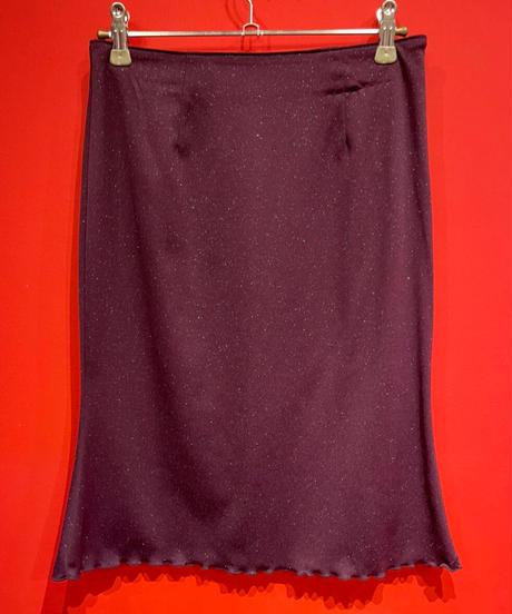 purple skirt