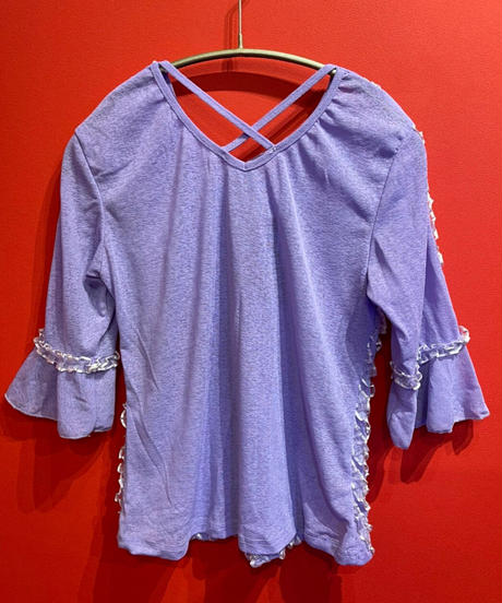 front frill tops