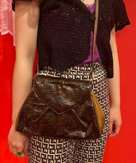 shoulder bag (fake leather)