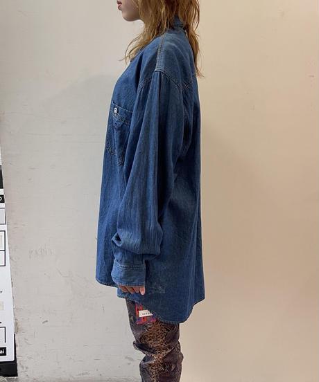 denim long jacket