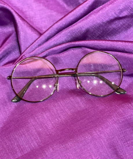 glasses(丸眼鏡black)
