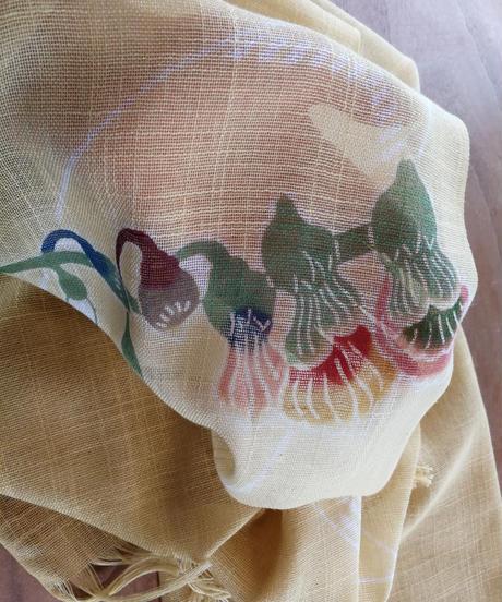 綿ショール 月桃
