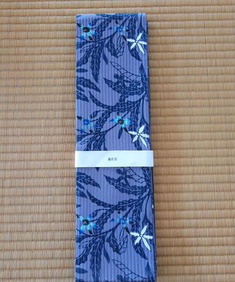 半巾帯(絹地) 星あざみ