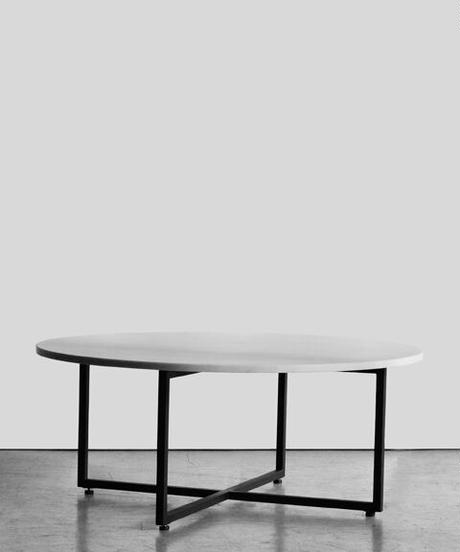 11-TA111020 Marble Top Coffee Table Black (メールオーダー対応品)