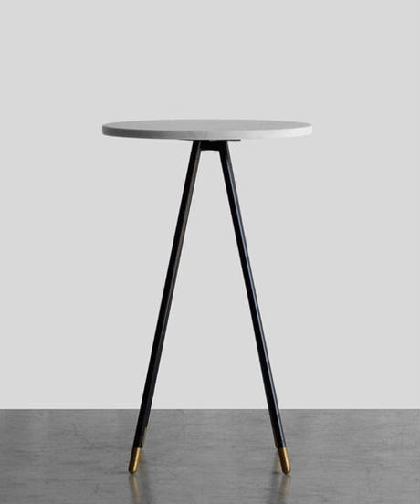 11-TA121011  Marble Top Side Table M