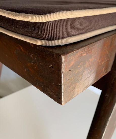 11-CH212032 Pierre Jeanneret floating back original vintage chair(メールオーダー対応品)