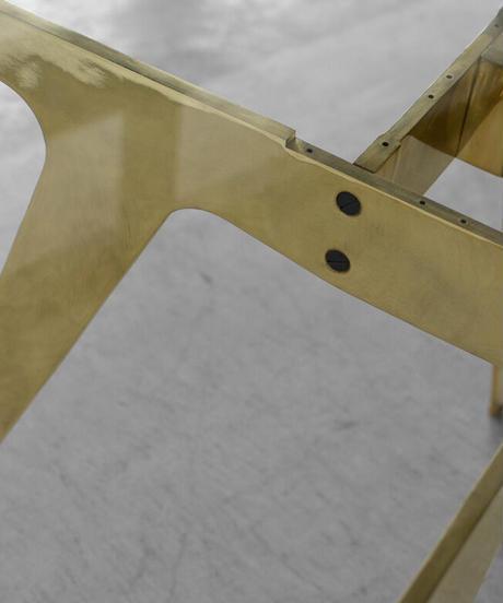 11-TA131026 GP Solid Brass Table (メールオーダー対応品)