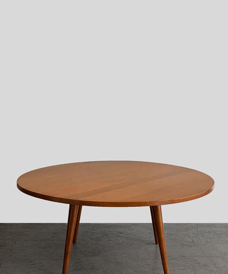 11-TA112008 Paul McCobb End table Maple round