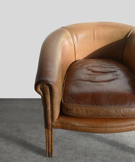 11-CH112005 Leather Lounge Sofa【C】