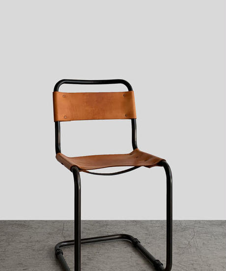 11-CH211042  Cantilever chair leather seat(メールオーダー対応品)