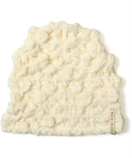 森商事(Morishoji)  ecomoco モコモコキャップ 6.Milk MOCA-06