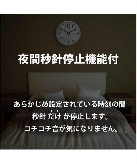 ノア精密 電波 アナログ 掛け時計 モーメンタムコパン