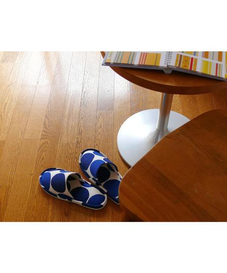 クォーターリポート スリッパ 室内履き チャルカ レッド フリーサイズ 男女兼用 定番 綿100%【日本製】