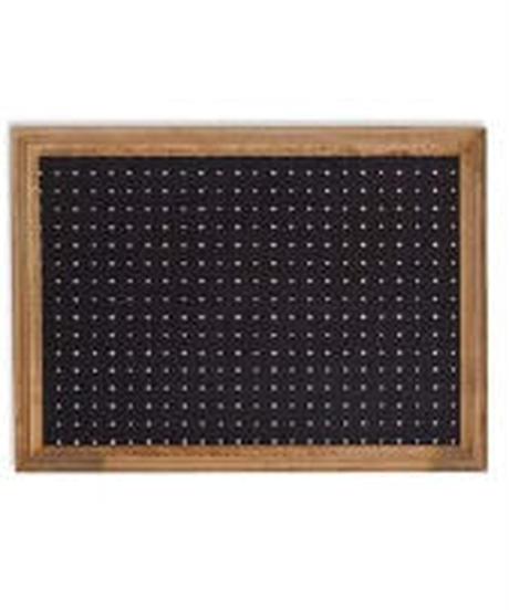 POSH LIVING 額縁 ブラック W66×D2.5×H48cm ペグボード A2 41288