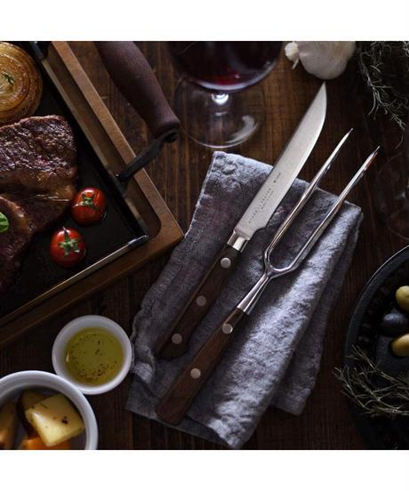 《大人の鉄板》 ステーキナイフ&ミートフォーク
