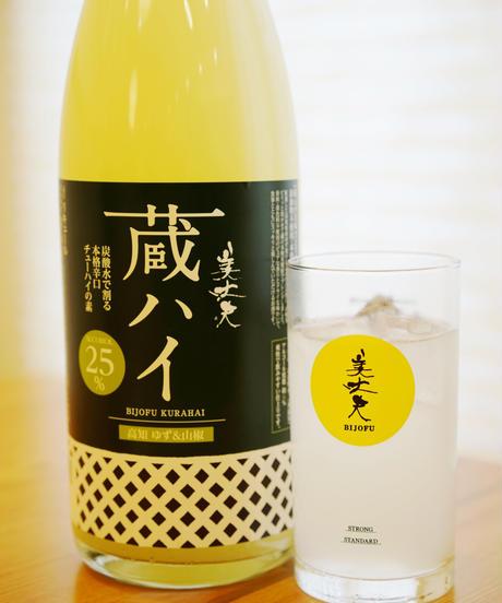 美丈夫 蔵ハイ 高知 ゆず&山椒 1800ml