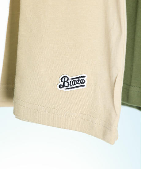 MUJI WAPPEN OFFICE BLAZZ Ex TEE. [KHAKI]