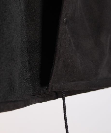 SMOKE ISLAND  BOA MOUTON JACKET [BLACK]