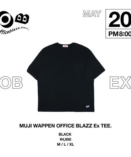 MUJI WAPPEN OFFICE BLAZZ Ex TEE. [BLACK]