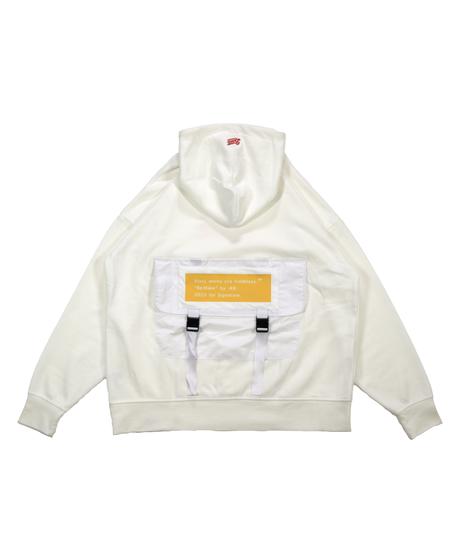 kb. battle field hoodie [OFF WHITE]