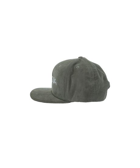 BLAZZ ELECTRONICS CORDUROY CAP [OLIVE]