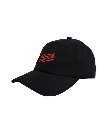 MINI LOGO COTTON CAP [BLACK x RED]