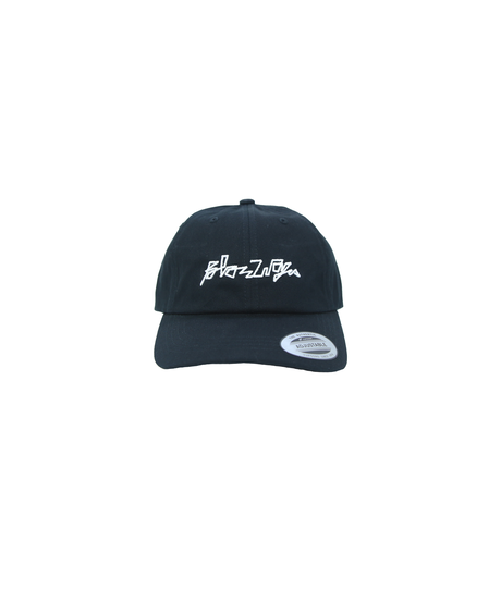 BLAZZ ELECTRONICS 3D Low Profile Cotton Cap [BLACK]